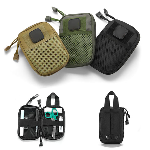 Outdoor First Aid Emergency Medical Bag Traveling Survive Gear EDC Molle Pouch Military Pouch Medicine Box Home Car Survival Kit