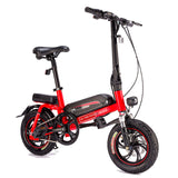 Bicicleta Electric Bicycle Rear Disc Brake Waterproof Smart Folding Electric Bike EU PLUG With Protect Cover Velo Electrique Adu