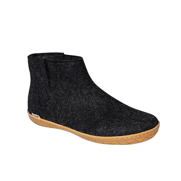 Glerups Boot - Rubber Sole - Charcoal