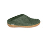 Glerups Slip on - Rubber Sole - Forest