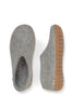 Glerups Shoe - Rubber Sole - Grey