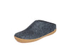 Glerups Slip on - Rubber Sole - Denim