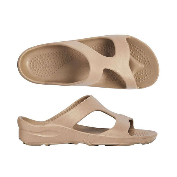 Indy Orthotic Slides Tan