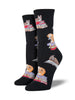 Socksmith Womens Socks Cats on Books