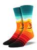 Socksmith Mens Sock Catch a Wave Orange