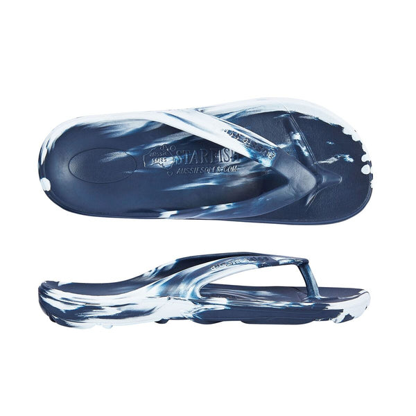 Starfish Orthotic Jandal Navy/Sky