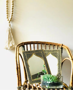 Mirror Moroccandecor Handtooled A4 Size
