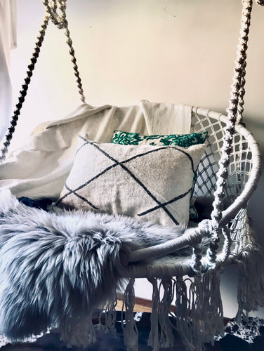 Macrame Hanging Chair Handmade and weaved to perfection...PRE-ORDER NOW for November/December