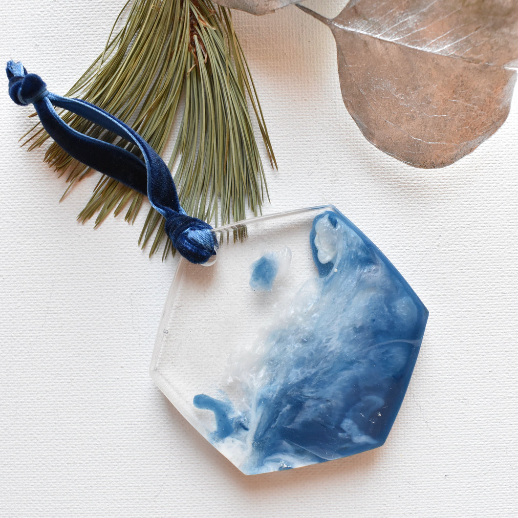 Ocean Art Christmas Ornament | Bespoke Item