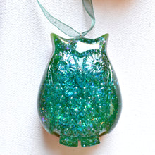 Load image into Gallery viewer, Owl Christmas Ornaments | Set of 3 | Bespoke Item