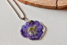 Load image into Gallery viewer, Purple Flower Petal Necklace | Bespoke Item