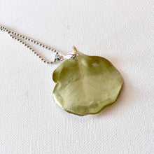Load image into Gallery viewer, Eucalyptus Leaf Necklace | Bespoke Item