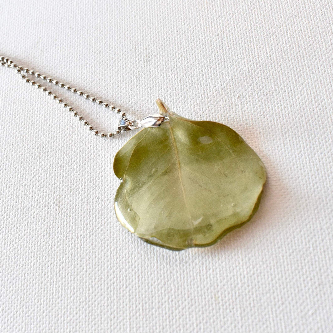 Eucalyptus Leaf Necklace | Bespoke Item