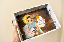 Load image into Gallery viewer, Retro Art Decorative Tray | Bespoke Item