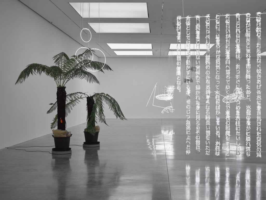 No Realm Of Thought...No Field of Vision: Cerith Wyn Evans at White Cube