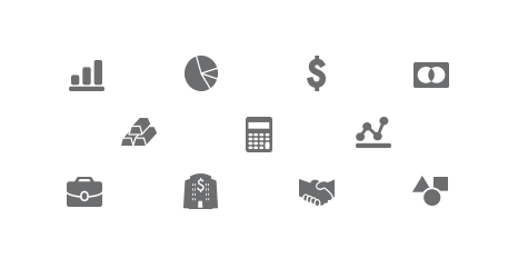 Financial and Insurance Icons - Flat Version