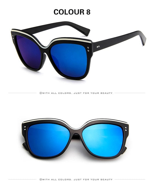 Cat eye Brand Designer Original Sunglasses Glasses