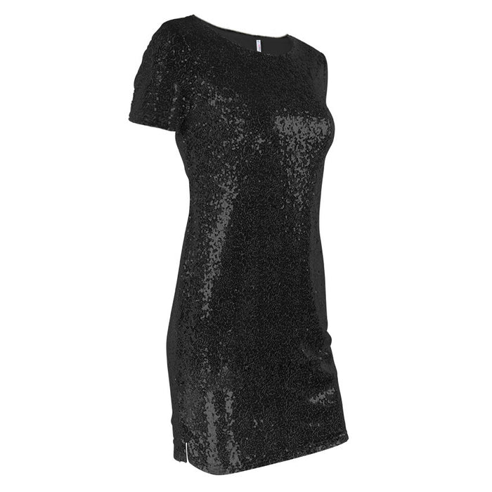 Sexy Short T Shirt Dress Evening Party Elegant Club Dresses