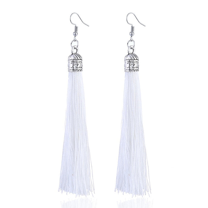 Bohemian Drop Dangle Long Earrings