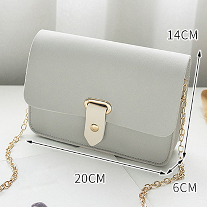 PU leather High Quality Ladies Messenger Bag