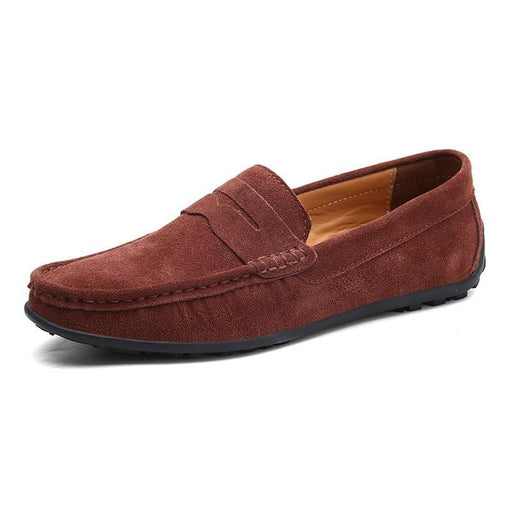 Suede Leather leisure Moccasins Slip On Men's driving Shoes