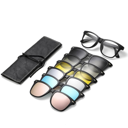 Clip On Polarized Night Vision Prescription Glasses