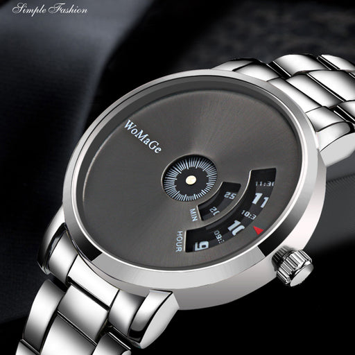WoMaGe Wrist Watch Luxury Unique Style Men Quartz Watches Fashion Designer Male Watch