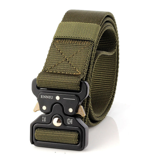 Military Equipment Army Tactical Designer Canvas Belts