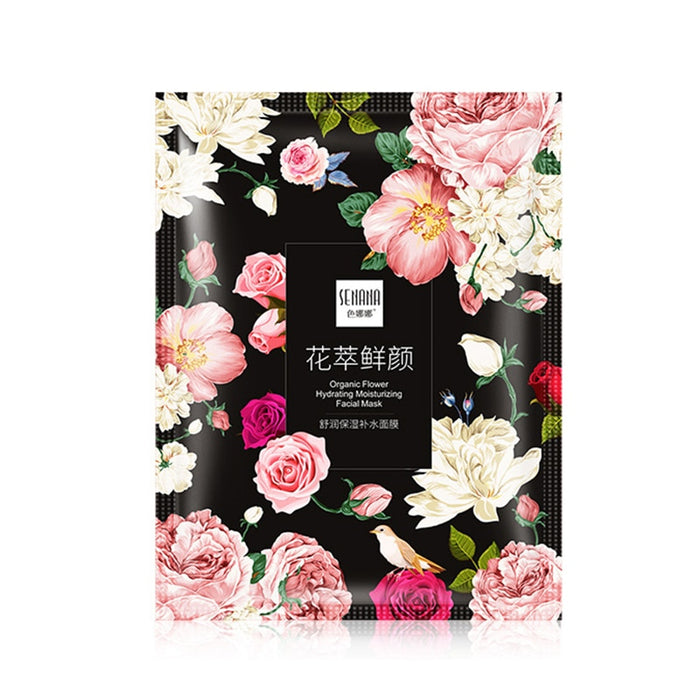 Organic Flower Facial Mask Skin Care Moisturizing Facial