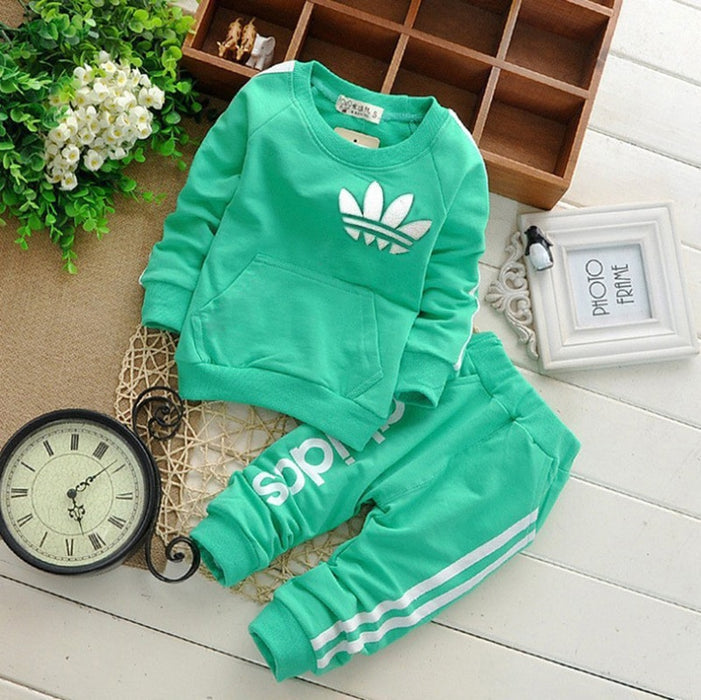 Spring Casual Baby Girl Clothes Sets