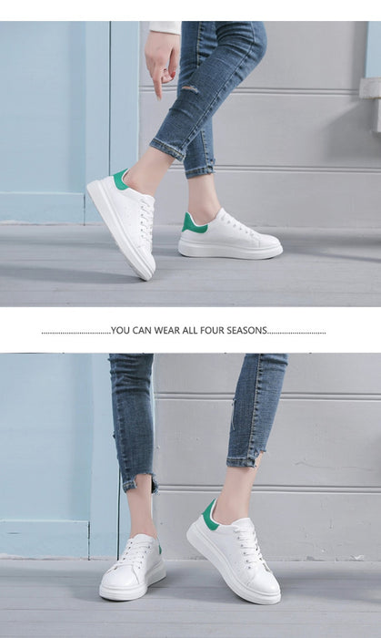 Lace-Up Breathable Casual Chunky Sneakers