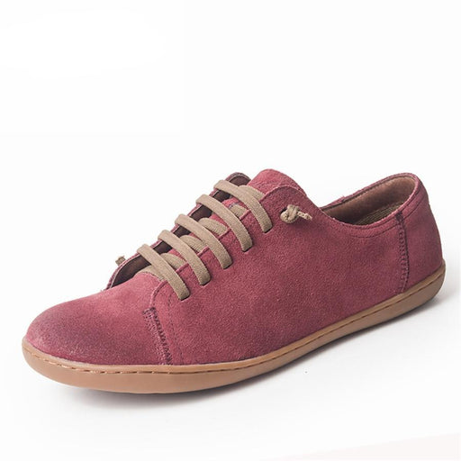 Genuine suede leather barefoot Casual Shoes