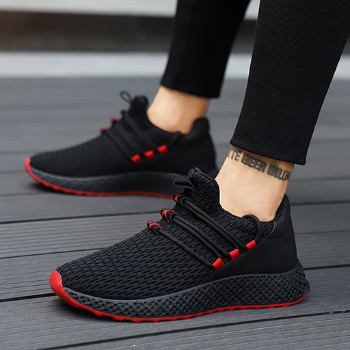 Lace up Wear-resistant Men Sneakers Men Canvas Shoes
