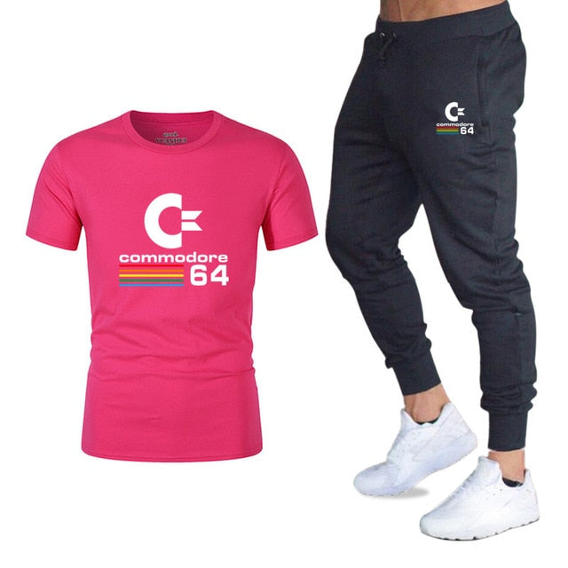 Two-piece suit sportswear fashion casual T-shirt