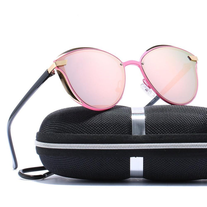 Luxury Brand Cateye Polarized Sunglasses