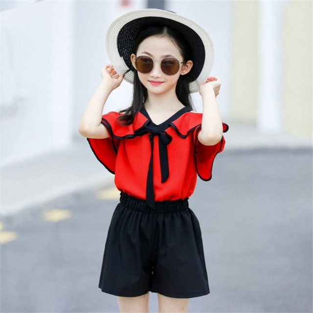 Teenager Tracksuit Outfits Children Clothing