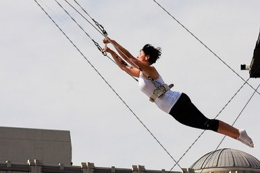 Trapeze – An Exciting New Fitness Craze