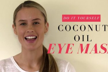 How To Make A Coconut Oil Eye Mask For Dark Circles – DIY Beauty Tip!
