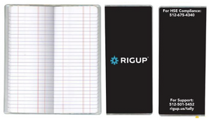RigUp Tally Note Book