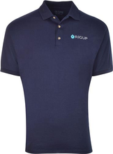 Load image into Gallery viewer, Navy RigUp Logo Polo