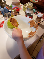 making dog treats