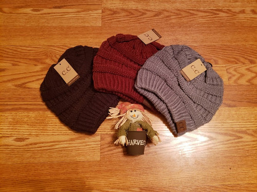 Classic Knit Beanie Hat