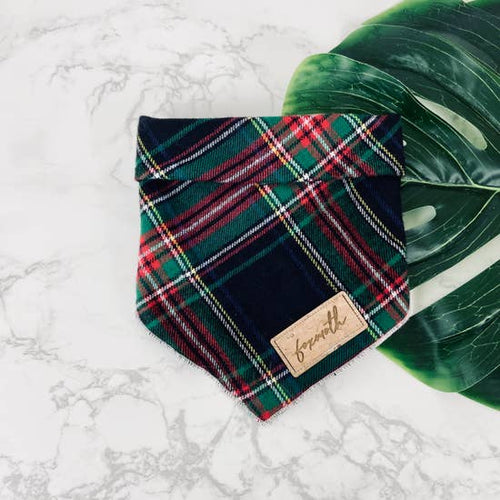 Christmas Plaid Bandana