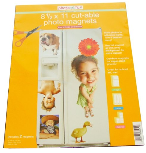 CUT-ABLE PHOTO MAGNETS