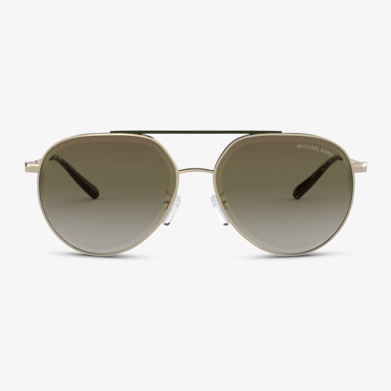 MICHAEL KORS Damen Sonnenbrille MK1041 10148E 60 Shiny Pale Gold Antigua