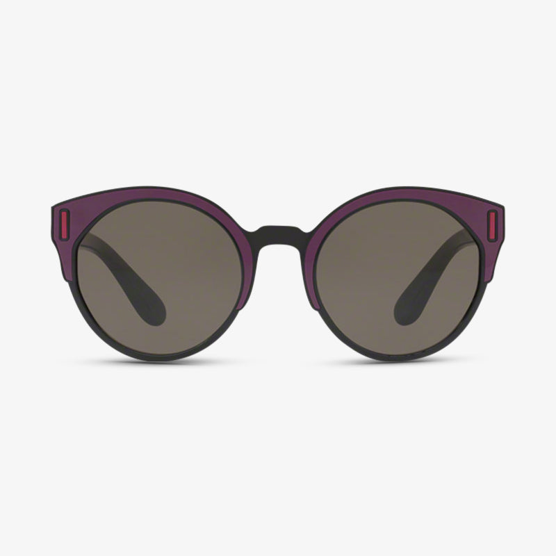 PRADA Damen Sonnenbrille PR 03US SSA5S2 53 Purple Black/Bordeaux/Fuxia