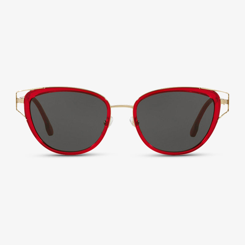 VERSACE Damen Sonnenbrille VE2203 143987 53 Transparent Red/Pale Gold
