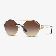 VERSACE Damen Sonnenbrille VE2184 125213 61 Pale Gold