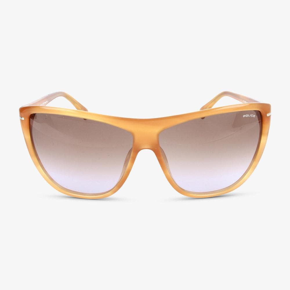 Police Damen Sonnenbrille S1730M 960 Shiny Honey Havana