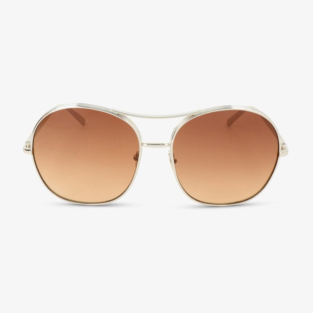 Chloè Damen Sonnenbrille CE128S 743 Gold/Brown